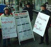 Frankfurt: 'Jobs in time' Niederlassung besetzt