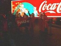 Nocheinmal: Weihnachtsmanngewerkschaft der FAU in Aktion