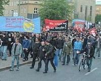 Der Berliner erste Mai ist ein seltsames Ritual bei den Linken dieser Stadt...