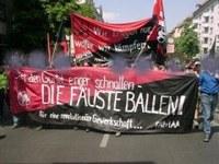 Berliner Demo gegen den SPD-Parteitag zur Agenda 2010