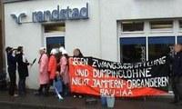 Aktionstag gegen Agenda 2010 in Tübingen