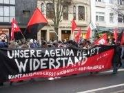 2.500 demonstrieren in Düsseldorf gegen Sozialabbau