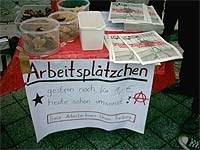 Freiburg: »Arbeitsplätzchen« im Übermaß
