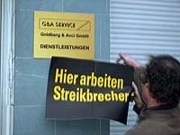 Gate Gourmet: Aktionen gegen Streikbrecher in Duisburg erfolgreich