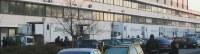 Blockaden am 100. Streiktag bei Gate Gourmet Düsseldorf