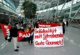 Neues vom Streik bei Gate Gourmet in Düsseldorf