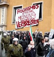 Totale Pleite für faschistisches Aktionsbündnis West in Münster