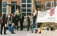 Aktionstag Jobcenter Berlin Neukölln
