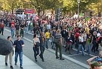 Demonstration gegen Überwachung in Berlin