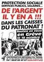 Wir streiken am 18. Oktober 2007! Denn Geld ist genug da - in den Kassen der Unternehmer!