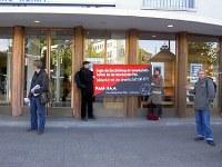 Solikundgebung für die CNT-PTT in Berlin