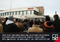Frape-BEHR Barcelona: Wiederbesetzung gegen Aussperrung!