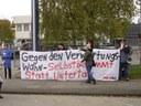 Aktionen gegen die Jobmesse Kiel