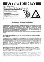 Streikrecht für Unorganisierte