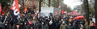 20.000 auf der Demonstration «Wir zahlen nicht für eure Krise» in Frankfurt/Main