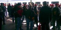 3000 ArbeiterInnen gegen Conti-Schließungen