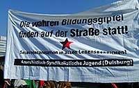 Aufruf der Anarchistisch-Syndikalistischen Jugendgruppen zum Bildungsstreik am 17.06.2009