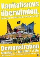 Aufruf zur antikapitalistischen Demonstration am 11. Juli in Freiburg