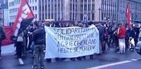 Frankfurt/M: Solidemo für die Aufständischen in Griechenland