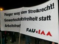 Pöbel meets Elite! Hessens UnternehmerInnen mit Demonstration konfrontiert!
