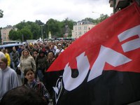Verstärkt Studentenproteste in Giessen