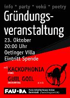 FAU Darmstadt - Gründungsveranstaltung mit Bands