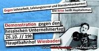 Gegen Lohnarbeit, Leistungsterror und Standortkonkurrenz - Die Krise heißt Kapitalismus!