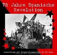 75 Jahre Spanische Revolution: Ausstellungseröffnung und Auftaktveranstaltung