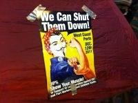 USA: AktivistInnen blockieren Häfen an der Westküste