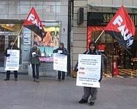 Leiharbeitsfirma ADECCO schickt Streikbrecher