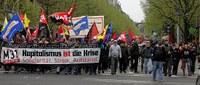 M31: Auch in Frankfurt Auftakt zu gemeinsamen und europaweit vernetzten antikapitalistischen Protesten