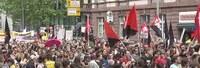 Demonstrieren in den Zeiten des Bank Run