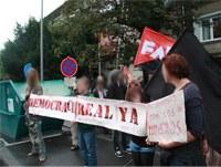Kurz vermeldet: Solidaritätskundgebungen für den Kampf der spanischen BergarbeiterInnen und deren UnterstützerInnen