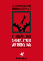 Vom Aktionstag zum Generalstreik gegen das Europa des Kapitals