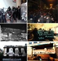 Angriff auf die anarchistische Bewegung in Griechenland