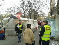 FAU Berlin fordert weiterhin bessere Bedingungen