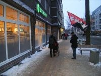 FAU-Hannover protestiert gegen Arbeitsbedingungen in der Biobranche