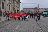 Libertäre 1. Mai-Demo in Dresden