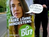 Internationale Aktionswoche gegen prekäre Beschäftigung in der grünen Böll-Stiftung