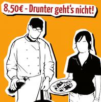 Kampagne für 8,50 € Mindestlohn und Lohnspiegel in Dresdner Gastronomie-Branche