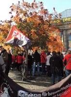 """FAU Dresden beteiligte sich an """"Pflege braucht Zukunft!""""-Demonstration"""
