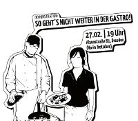 Demonstrations-Aufruf: So geht's nicht weiter in der Gastronomie!