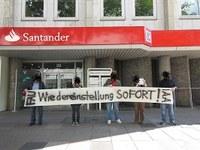 CNT-Spanien: Arbeitskonflikt bei der Santander Bank beendet
