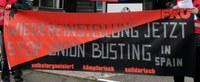 Spanische BMW-Geschäftspartner feuert Aktivisten der CNT