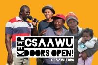 Keep CSAAWU Doors Open! - Spendensammlung für die Kämpfe von LandarbeiterInnen in Südafrika