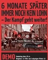Ein erster Erfolg vor Gericht: Arbeitern der Mall of Berlin Lohn zugesprochen