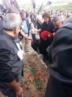 Türkei, Ankara: Beerdigung des Anarcho-Syndikalisten Ali Kitapçı