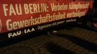 Einstweilige Verfügung gegen Basisgewerkschaft FAU Berlin