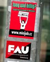"""""""Jung und Billig? Gegen Ausbeutung im Minijob!""""-Kampagne in Bremen gestartet"""