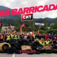 [Update] Nach dem Generalstreik in Katalonien: CNT ruft dazu auf, die sozialen Kämpfe auszuweiten